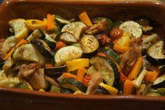 Elmira paleo konyhája: Zöldséges csirkecomb filé