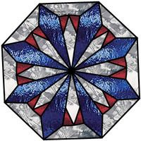 Free block.          Ozark Stained Glass: Free Quilt Patterns