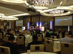 MetricStream GRC Summit 2013 at the Mandarin Oriental Hotel in Las Vegas - Integrated GRC panel discussion in progress