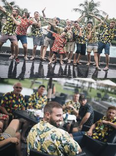 This group of guys went all out, getting tropical tailoring here in Hoi An for their tropical wedding! Hoi An, We Can Do It, Big Day, Bridal Gowns, Dreaming Of You, Our Wedding, Your Style, Tropical, Bridesmaid Dresses