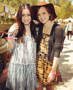"728.5k Likes, 3,491 Comments - Lily Collins (@lilyjcollins) on Instagram: ""Just came across this Coachella throwback from 5 years ago — and it happens to be @EmmaWatson's…"""