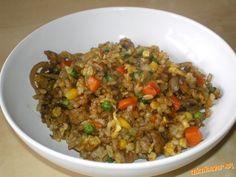 Zostala vám ryža? Pridajte pár ingrediencií a máte super jedlo
