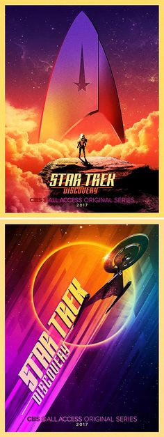 SDCC Posters for Star Trek: Discovery