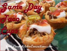 Best Ever Taco Cups is an Easy Tailgating Recipe