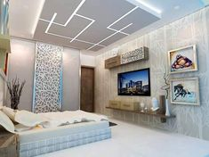 planning to interior new home? You will find out all the solution for your requirements under one roof at reasonable cost. Simple False Ceiling Design, Simple Ceiling Design, Gypsum Ceiling Design, House Ceiling Design, Ceiling Design Living Room, Bedroom False Ceiling Design, Home Ceiling, Modern Bedroom Design, Living Room Designs