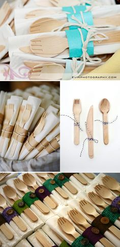 Eco-friendly and stylish....Bambu Veneerware Utensils - Knife/Fork/Spoon...Organic foods taste even better eaten with organic utensils. Perfect for picnics or camping, this fork, knife and spoon travel set are a great addition to your eco-friendly lifestyle.