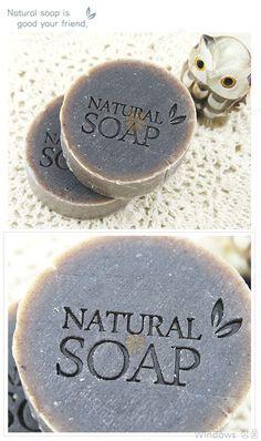 스템프-나뭇잎_네츄럴솝 50x30mm #stamp #soap #handmade