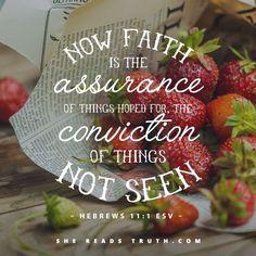 Blessed Assurance #Hebrews 11:1 #Faith #Scripture
