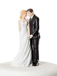 """Wedding Collectibles """"Wedding Bliss"""" Cake Topper Figurine"""
