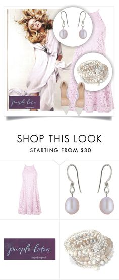 """""""SHOP - Purple Lotus Jewelry"""" by ladymargaret ❤ liked on Polyvore featuring New Look and Gianvito Rossi"""