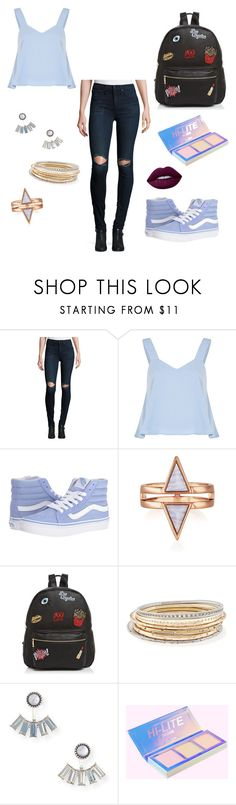 """""""Combination 💜"""" by natushkiii ❤ liked on Polyvore featuring rag & bone/JEAN, Vans, Ollie & B, Kendra Scott, Aéropostale and Lime Crime"""