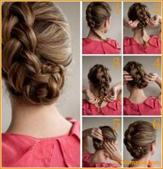 Want to look fabulous in your prom night? Let us help you with this #hairstyle