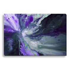 Gallery Direct Abstract Ignition II by Lisa Fabian Painting Print on Wrapped Canvas & Reviews | Wayfair