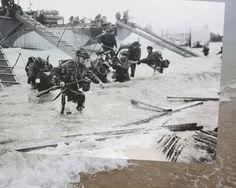 FOTOGALERÍA del Desembarco de Normandía: http://www.muyinteresante.es/historia/fotos/el-dia-d-de-la-segunda-guerra-mundial-el-desembarco-de-normandia/desembarco-normandia-dia-d-1