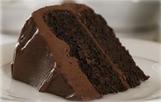 This chocolate cake recipe always generates a buzz at family functions and often prompts many requests for the recipe. (The frosting is courtesy of Betty Crocker).   Note: If making a layer cake, please double the recipe. This also makes great cupcakes! Enjoy!