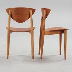 Peter Hvidt and Orla Mølgaard-Nielsen; Teak Dining Chairs for Bodafors, 1962.