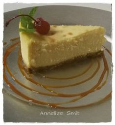 ANNELIZE SE ONGELOOFLIKE GEBAKTE KAASKOEK Easy Cheesecake Recipes, Tart Recipes, Cheese Recipes, Baking Recipes, Cake Cookies, Cupcake Cakes, South African Recipes, Food Menu, Food And Drink