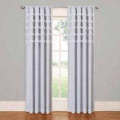 Product Image for SolarShield® Rihanna Rod Pocket Room Darkening Window Curtain Panel 1 out of 2