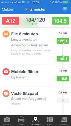 Flitsmeister for iOS7 (wip) by Rick Waalders