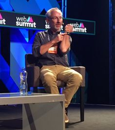 """""""Heart rate tracking isn't the end... Think emotional & stress tracking!"""" Peter-Frans Pauwels #Wearables #websummit"""