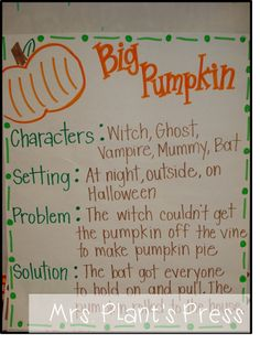 Big Pumpkin - Problem/Solution