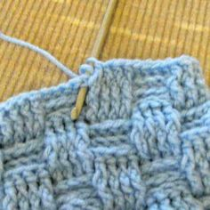 Crochet Sampler Pattern - Post Stitch Basketweave Pattern