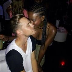 sexywhiteboysblackgirls:    Bria Myles and her boo…