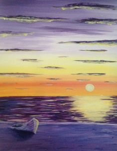 Boat on a Beach *Paint Nite* Buy tickets at paintnite.com