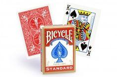 Cartes Bicycle Standard (rouge) - Pokeo.fr - Jeu de 54 cartes de poker plastifiées Bicycle au format Poker Regular, dos rouge.