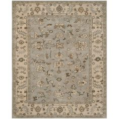 Safavieh's Heritage collection is inspired by timeless traditional designs crafted with the softest wool available.