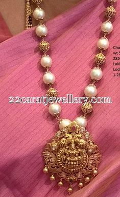 I want to get this south sea pearl necklace with Laxmi pendant♡