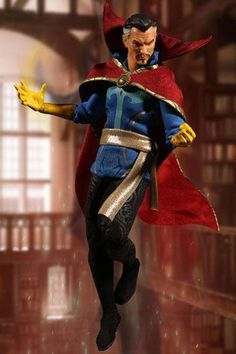 New Mezco Toys Action Figure - Preorder List . A look at Marvel , DC & Movies New action figure line of collectibles . Marvel Doctor Strange, Dr Strange, Marvel Dc Movies, Marvel Heroes, Marvel Comics, Cloak Of Levitation, Spiderman, Fantasy Wizard, The Ancient One