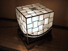 atelier SUETOMO|ランプ02|末友 章子のステンドグラス