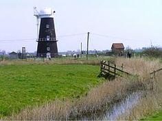 Berney Arms - Wikipedia, the free encyclopedia windmill, Norfolk, UK.