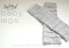 Bellapia Clothing Co.: Ruffled Baby Legs tutorial