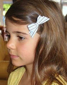 Fabric Hair Clips Tutorial by Melissa Goodsell of One Crafty Mumma Blog