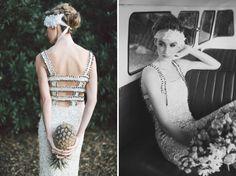 Aje dress   Lara Hotz Photography for Hitched Magazine   http://burnettsboards.com/2013/11/birds-paradise-indie-wedding-inspiration/