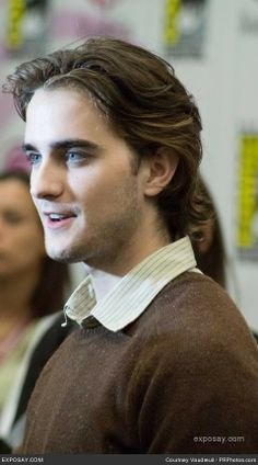 Landon Liboiron  Haven't seen any of his films, but what a cutie. Also, he is rocking that haircut and very few guys can BUT OH WHEN THEY CAN. ♥