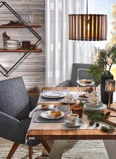 Hängeleuchte Eichefarben Table Settings, Products, Oak Tree, Kaffee, Place Settings, Gadget, Tablescapes