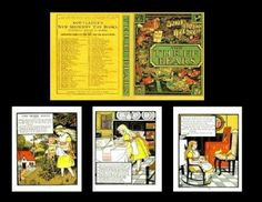 Dollhouse The Three Bears Readable Illustrated Book Miniatures for Doll House