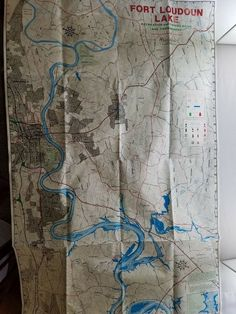 ATLANTIC MAPPING Lake Maps Lake Cherokee Tennessee Recreation - Marks lake maps
