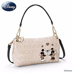 Disney Discovery- Mickey and Minnie Mouse 3 in 1 Handbag Disney Handbags, Disney Purse, Coach Disney, Fashion Handbags, Purses And Handbags, Disney Outfits, Disney Fashion, Disney Mickey Mouse, Minnie Mouse