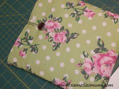 iPad Case – Keeping it Green | And Sew We Craft