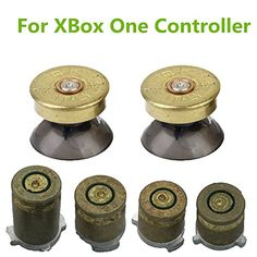 YTTL Thumbsticks Bullet Buttons and Bullet ABXY Buttons Set Mod Kits for Xbox one  Xbox ONE Elite Controller * Check out the image by visiting the link.Note:It is affiliate link to Amazon.