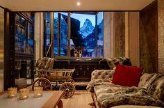 A room with a view The Backstage Loft — Zermatt, Switzerland, Luxury Ski Chalets, Ski Boutique
