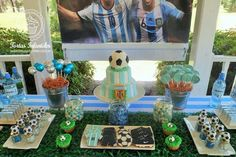 Cumpleaños con selección Argentina de futbol AFA
