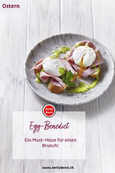Eier Benedikt oder Egg Benedict sind ein Must Have für einen Brunch! Egg Benedict, Omelettes, Tasty, Yummy Food, Low Carb, Dessert, Drinks, Cooking, Ethnic Recipes