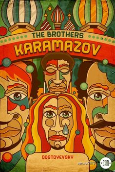 The Brothers Karamazov | 25 Beautifully Redesigned Classic Book Covers