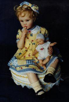 A repin of dolls by artist Cynthia Grady Malbon