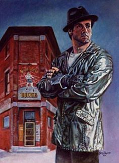 Items similar to Sylvester Stallone Rocky Balboa Rocky 5 art print signed and dated Bill Pruitt on Etsy Rocky Sylvester Stallone, Rocky Stallone, Rocky Balboa, Rocky Film, Silvester Stallone, Cinema, Celebrity Caricatures, The Expendables, Movie Poster Art